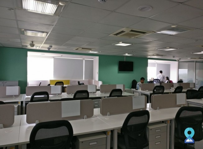 Coworking office at MG Road, Bengaluru