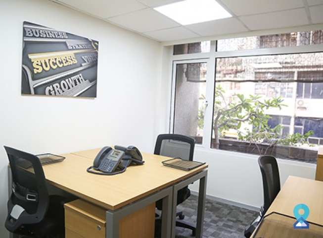 serviced office space in Nehru Place