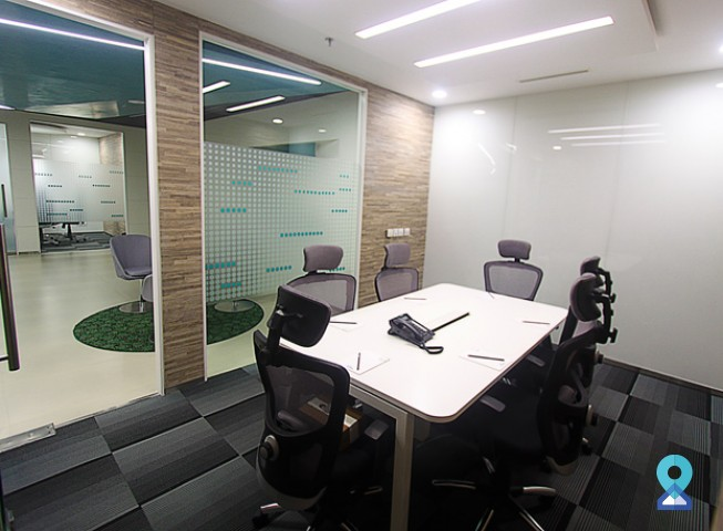 Meeting room in Kadubeesanahalli Village, Bengaluru